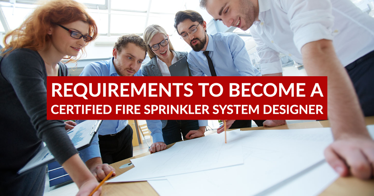fire sprinkler designer training